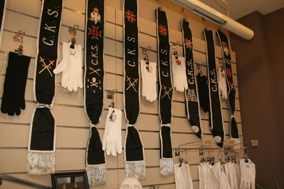 Baudriers & gants