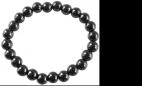 Bracelet Hématite Perles rondes 8 mm