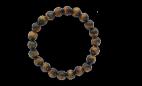 Bracelet Œil de Tigre Perles rondes 8 mm