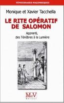 Le rite opératif de Salomon - Apprenti, des Ténèbres à la Lumière