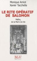 Le rite opératif de Salomon - Maître, de la Mort à la Vie