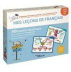 Mes leçons de français Niveau CM1, CM2, 6e - 50 cartes mentales pour comprendre facilement la grammaire, l'orthographe et la conjugaison !