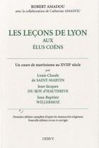 Les leçons de Lyon aux élus Coëns