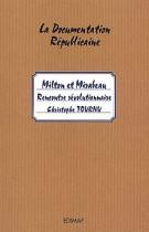 7 Milton et Mirabeau - Rencontre révolutionnaire