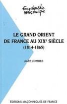 24 Le Grand Orient de France au XIXe siècle (1814-1865)