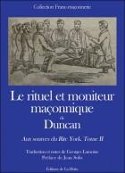 Rituel et moniteur maçonnique de Duncan