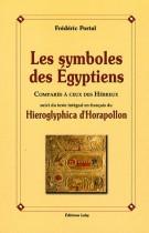 Les symboles des Egyptiens comparés à ceux des Hébreux