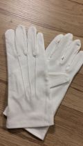 Gants blancs silicone - taille M