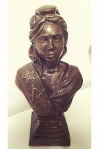 Marianne maçonnique en bronze