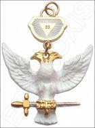 Bijou maçonnique de grade REAA-33