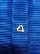 Petit triangle en argent