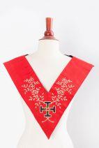 Sautoir XVIIIe-REAA-19: croix potencée et acacia (fin)