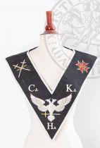 Sautoir XXXe-REAA-02: Aigle+CKH+croix de Malte+épées
