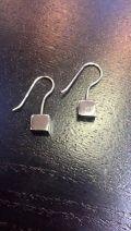 Boucle d'oreilles cubiques