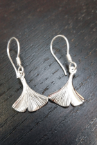Boucles d'oreilles en argent pendantes-G