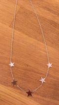 collier étoiles